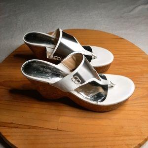 Fergie Wedge Sandals Size 5-6